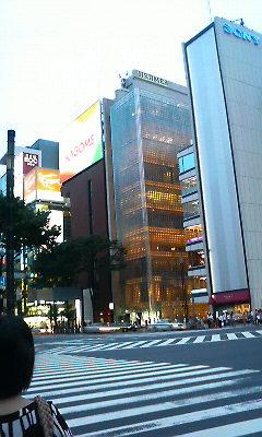 東京散策中